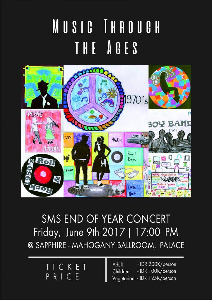 End of Year Concert 2017 @ Saphire – Mahagony Ballroom, Palace