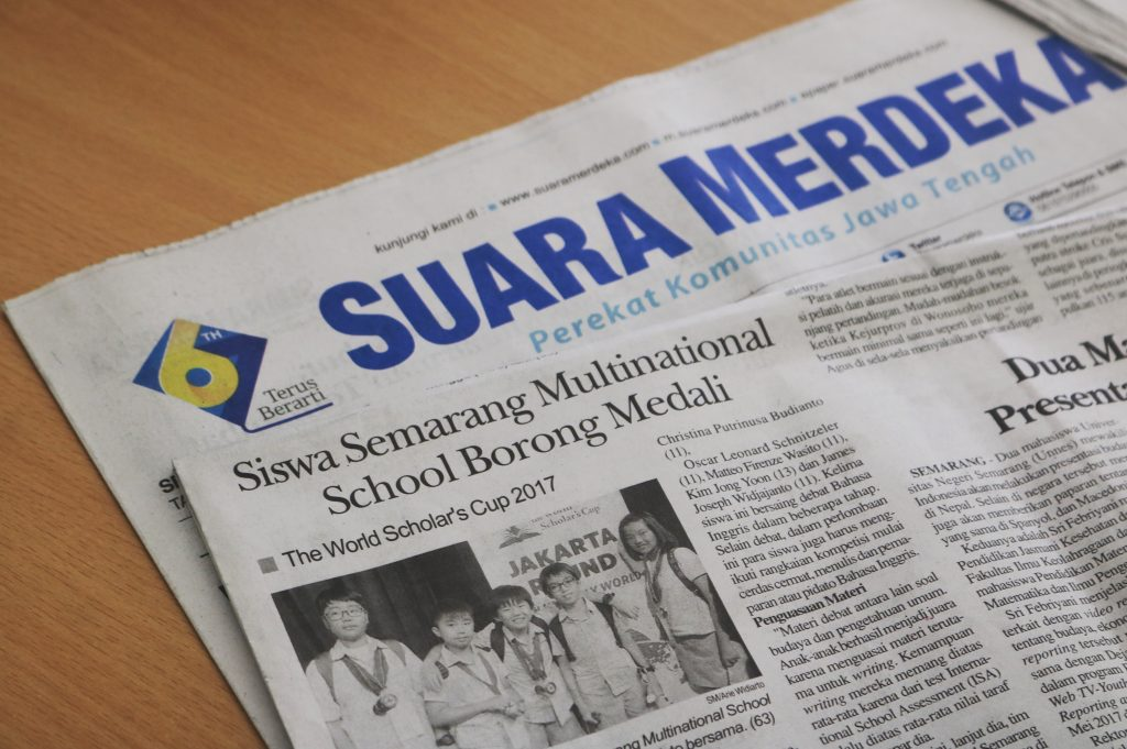 semarang multinational school in suara merdeka