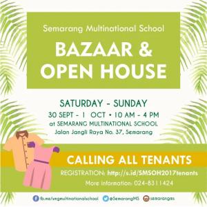 Bazaar semarang multinational school 2017