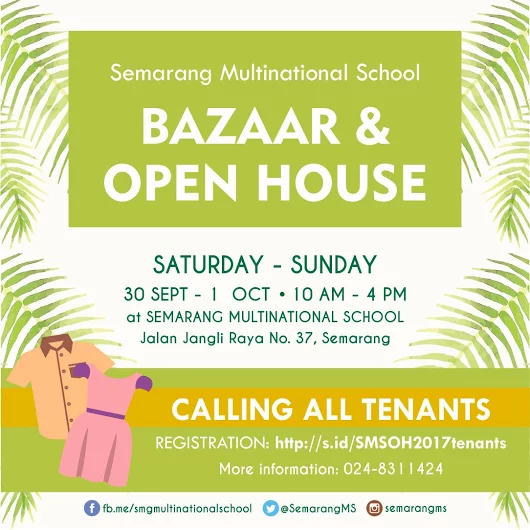 Bazaar & Open House 2017