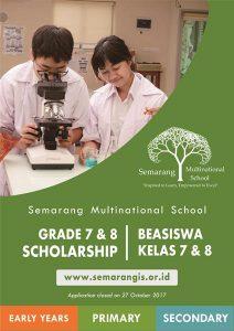 Scholarship Semarang Multinational School