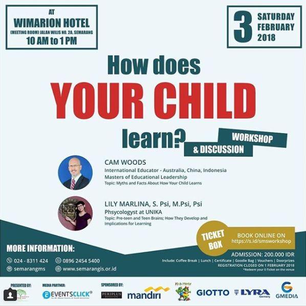 SMS Parenting Workshop 2018 @ Wimarion Hotel