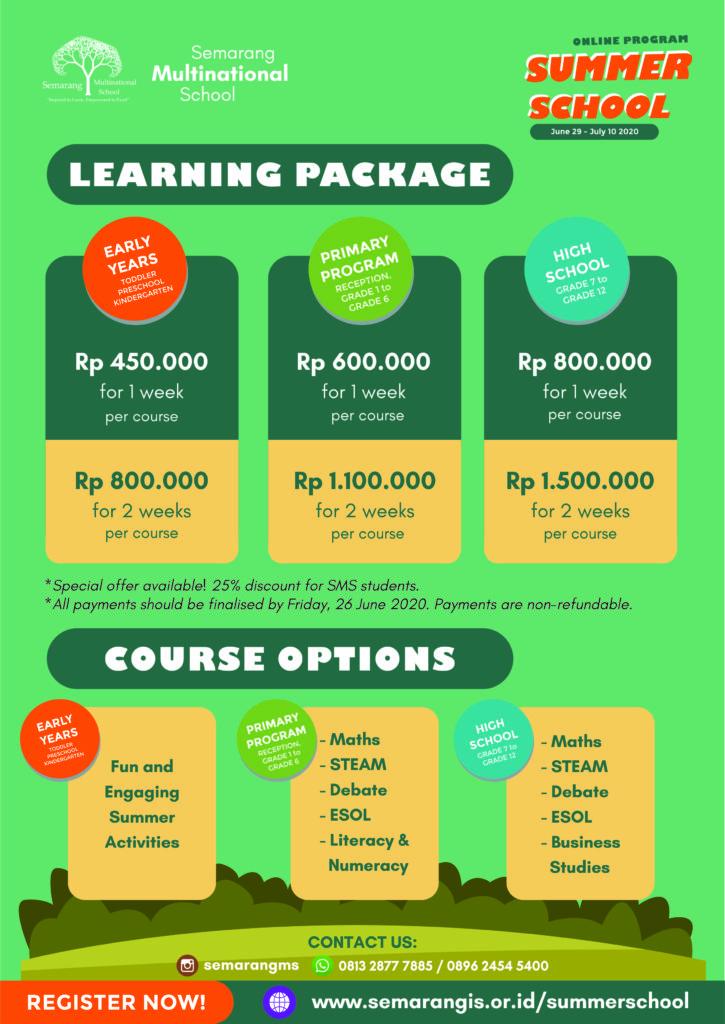 SMS Summer School 2020